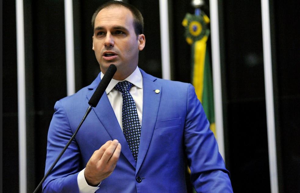 O deputado Eduardo Bolsonaro (PSL-SP) (Foto: Alex Ferreira/Câmara dos Deputados)