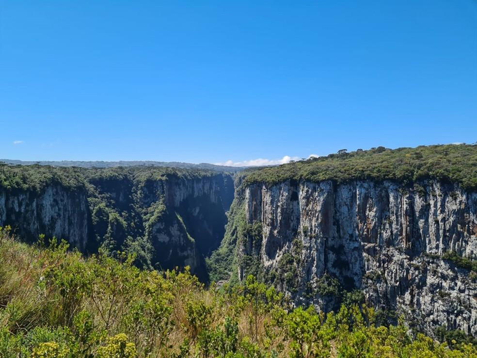Parque de Aparados da Serra e Serra geral serão concedidos à iniciativa privada  — Foto: Governo Federal/Reprodução