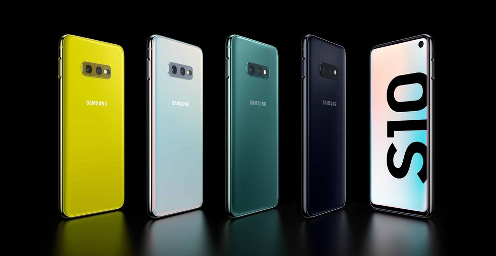 Galaxy S10E roda o Android 9 (Pie) sob a interface One UI — Foto: Divulgação/Samsung