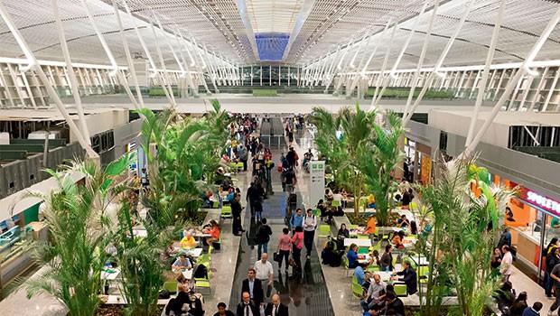 Aeroporto de Brasília: a Engevix procura comprador, após obras que o transformaram  no segundo maior  do país (Foto: BPI/REX Shutterstock)