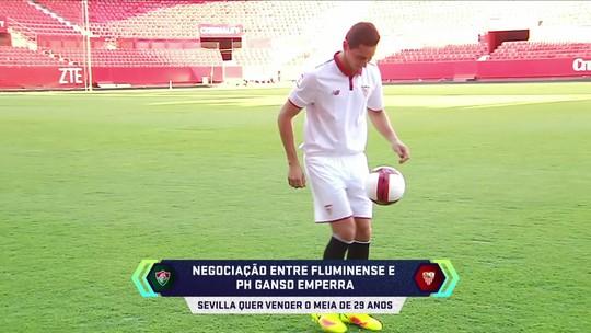 Sevilla muda de ideia e deseja vender Ganso; negociação com o Fluminense emperra