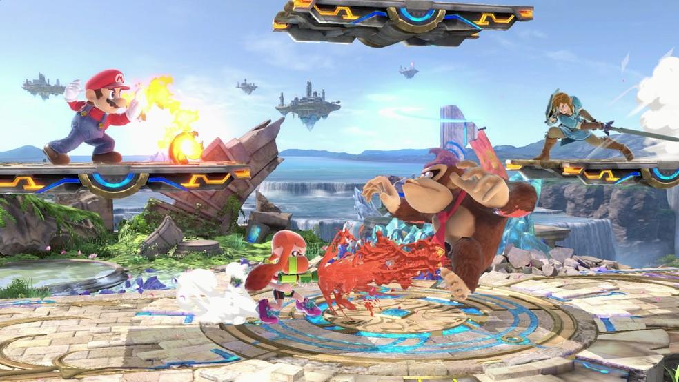Cena de 'Super Smash Bros. Ultimate', game de luta para Nintendo Switch (Foto: Divulgação/Nintendo)