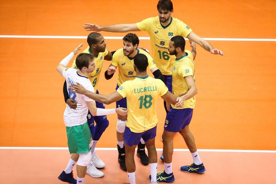 Brasil derrota o Japão por 3 a 1 e conquista o tri da Copa do Mundo masculina de vôlei