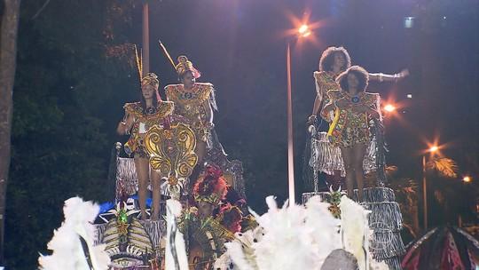 Veja como foi o desfile das escolas de samba de Belo Horizonte