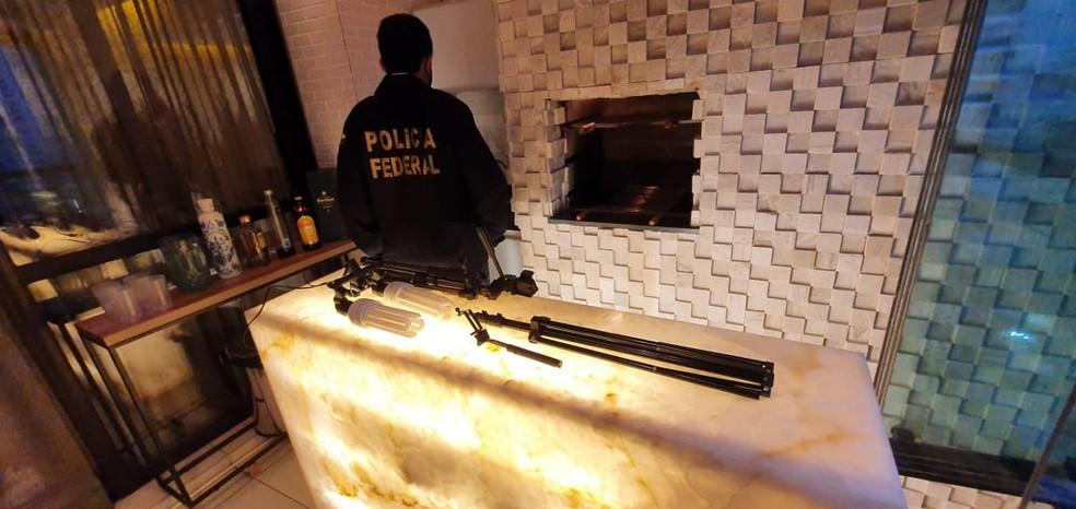 Operação da Polícia Federal combate tráfico de mulheres para fins de exploração sexual — Foto: Polícia Federal/Divulgação