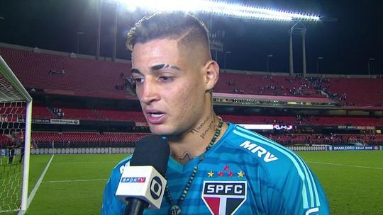 """""""Estamos deixando a desejar"""", diz Jean após mais um jogo sem vencer do São Paulo"""