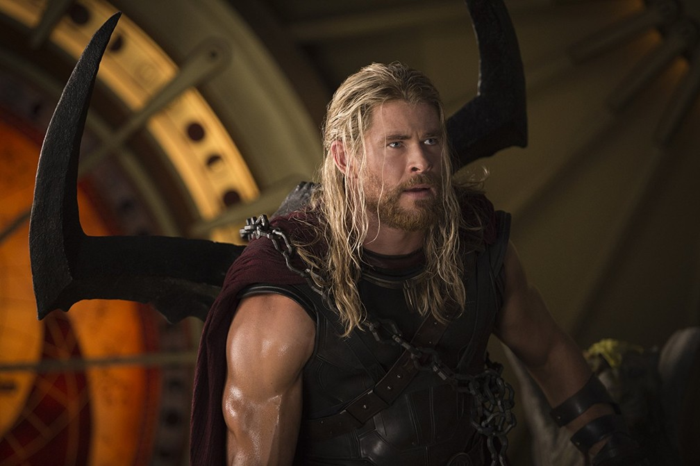 O ator australiano Chris Hemsworth interpreta Thor na franquia da Marvel (Foto: Disney/Marvel/Divulgação)