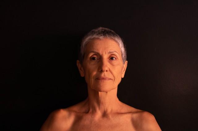 Cássia Kis está no ar em 'Desalma' (Foto: Maria Cândida Kis)