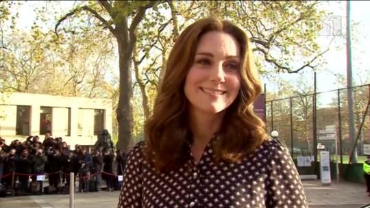 'Completamente entusiasmados', diz Kate Middleton sobre casamento de Harry e Meghan