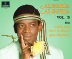 Fabricio Boliveira como Wilson Simonal na capa do disco 'Alegria, alegria' | Divulgação