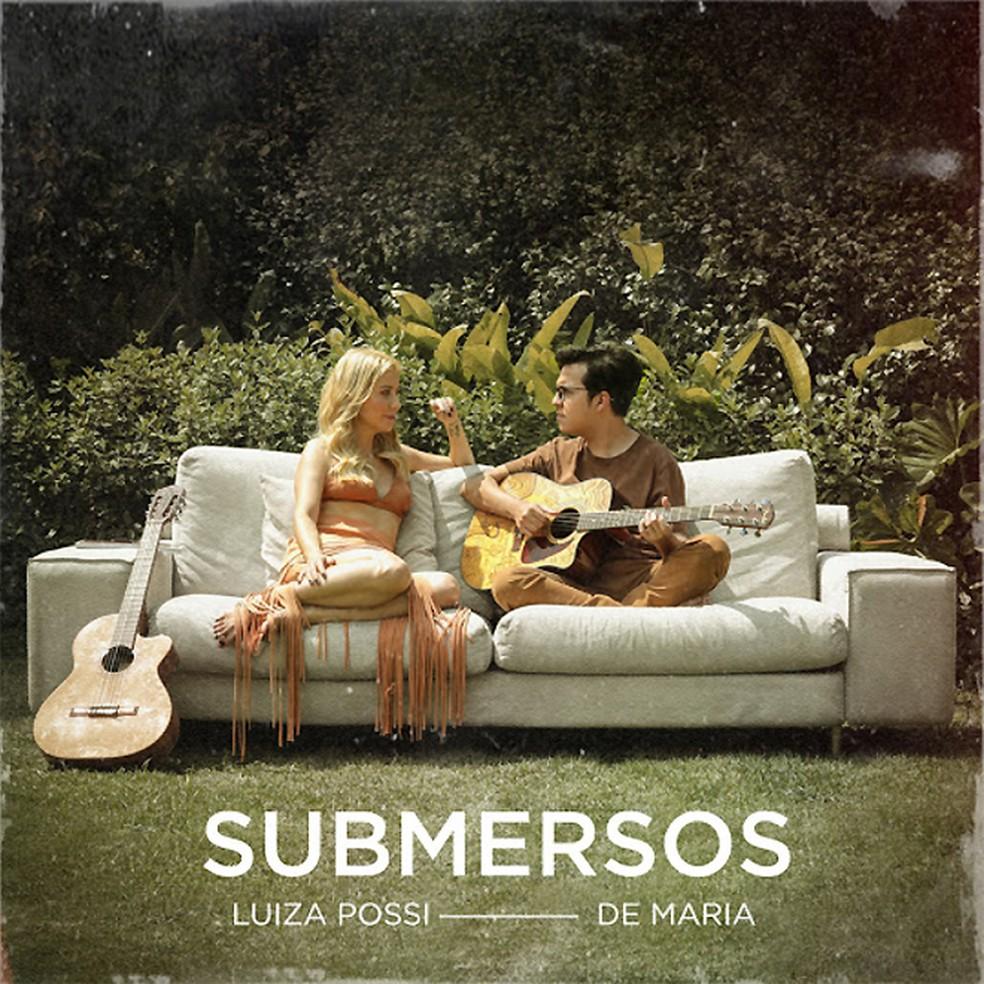 Capa do álbum 'Submersos', de Luiza Possi com De Maria — Foto: Reprodução