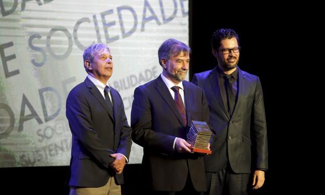 José Casado, Paulo Artaxo Neto e Rubens Paiva