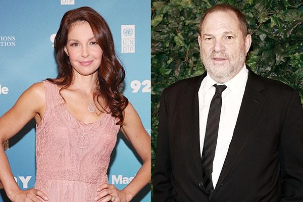 Ashley Judd e Harvey Weinstein (Foto: Getty Images)