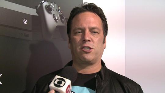 Xbox One X chega ao Brasil até o fim de 2017, promete Phil Spencer