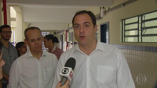 Paulo Câmara promete ampliar número de escolas de tempo integral em Pernambuco