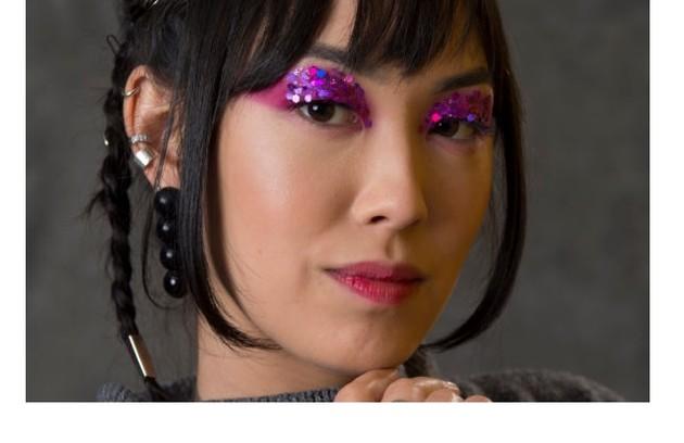 Ana Hikari, que é bissexual, vai falar de Tina, sua personagem em 'Malhação' e 'As Five' (Foto: Estevam Avellar/TV Globo)