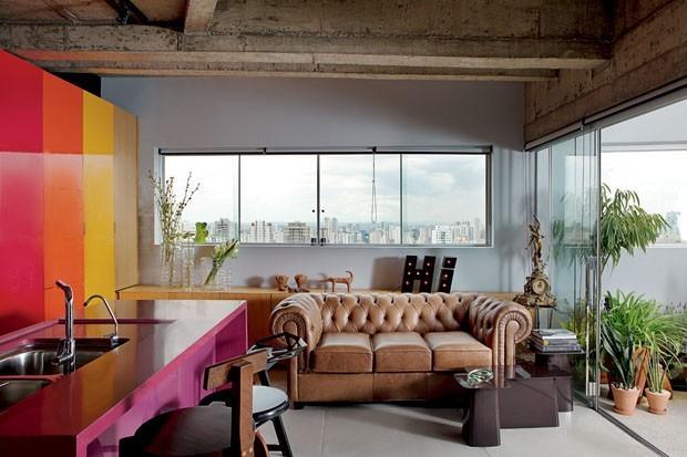 Sala integrada com varanda: 10 ideias de projetos (Foto: André Klotz)