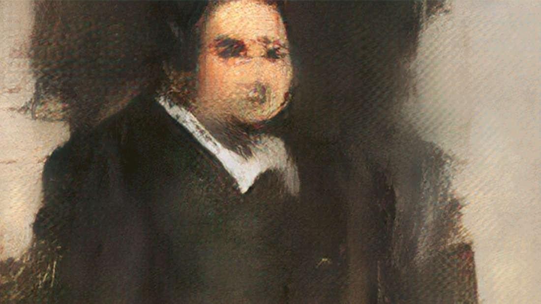 Uma das pinturas realizadas pela Inteligência Artificial (Foto: Divulgação)
