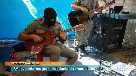 Projeto da PM ajuda a reduzir crimes em comunidade Kalunga de Goiás e leva sargento para curso na Swat