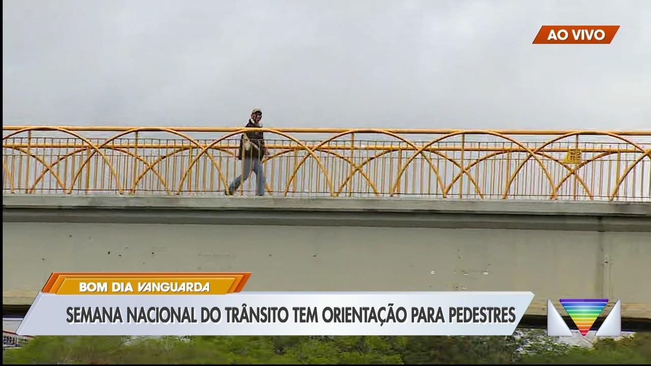 Semana nacional do trânsito tem orientação para pedestres