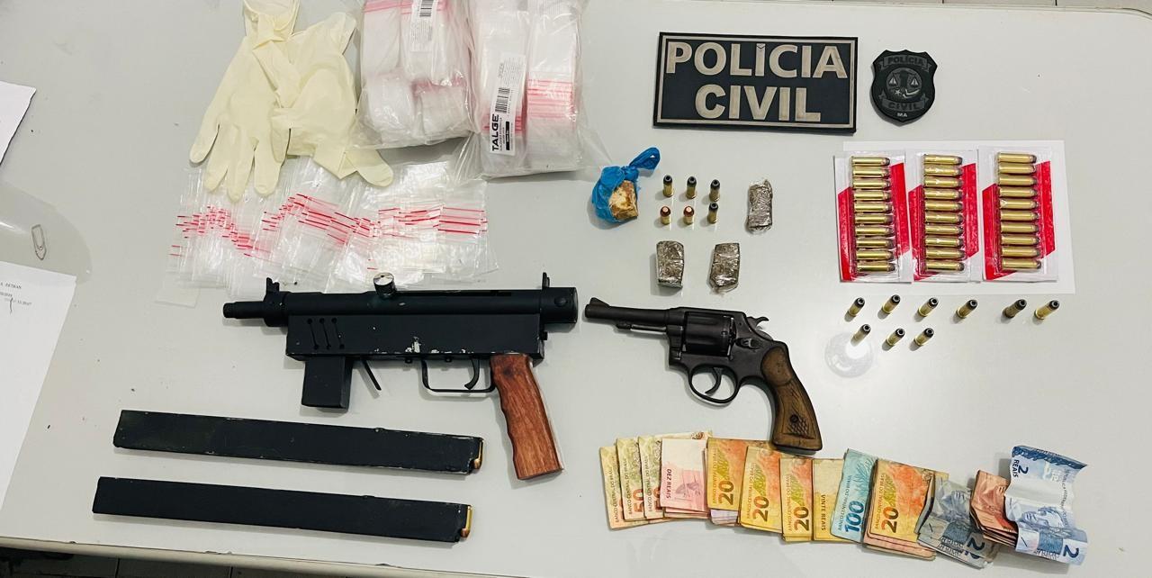 Polícia Civil prende 17 pessoas durante operação contra o tráfico de drogas no MA