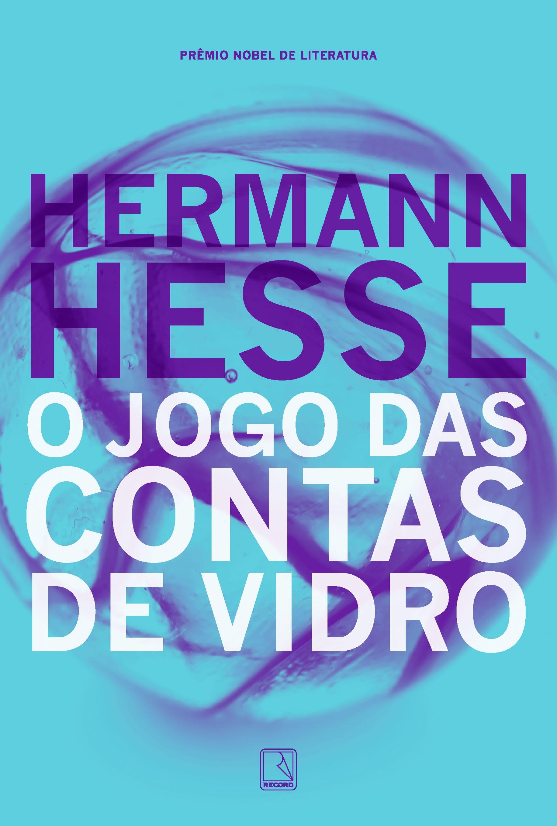 """Nova capa para """"O jogo das contas de vidro"""", de Herman Hesse (1877-1962)"""