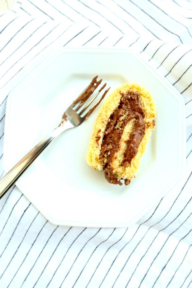 Aprenda a fazer um rocambole fit com recheio de mousse de chocolate (Foto: Divulgação)