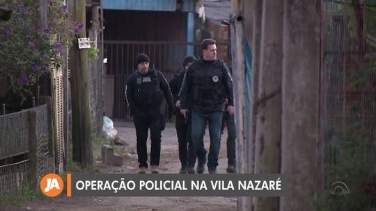 Polícia faz operação contra homicídios e tráfico de drogas em Porto Alegre