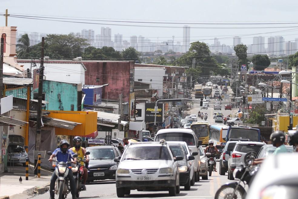 Bairro do Ibura fica na Zona Sul do Recife (Foto: Marlon Costa/Pernambuco Press)