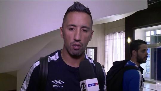 """Barrios faz alerta para a estreia do Mundial: """"Lutamos muito para estar aqui"""""""