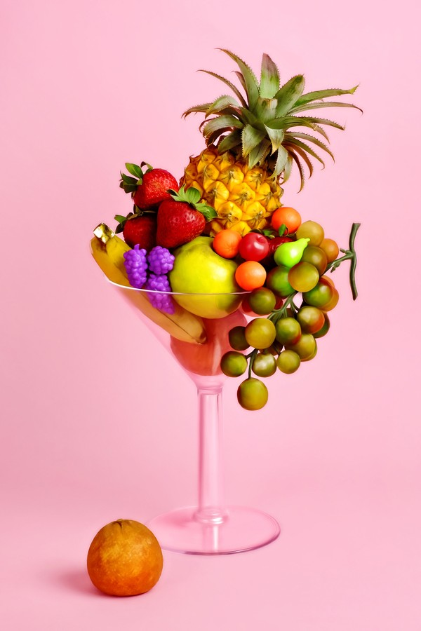 Drinks com ingredientes tropicais e bonitos por natureza (Foto: Getty Images)