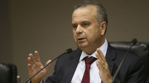 BBC: O ex-deputado Rogério Marinho, que hoje chefia a Secretaria Especial de Previdência e Trabalho, foi o relator da reforma trabalhista de Temer na Câmara (Foto: JOSÉ CRUZ/AGÊNCIA BRASIL VIA BBC)