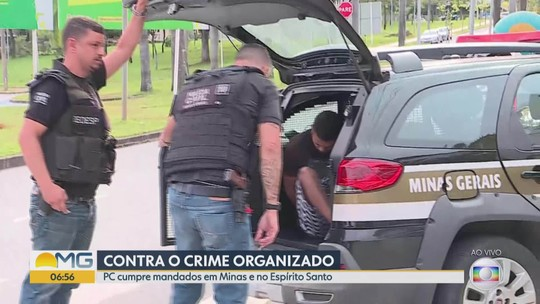 Polícia Civil prende suspeitos de roubos em shoppings, joalherias e drogarias da Grande BH