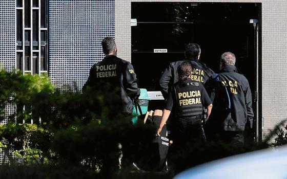 Umas da fases da operação Lava Jato .Limitar as investigações  esbarra no sentimento elementar de justiça (Foto: ANDRESSA ANHOLETE/AFP)