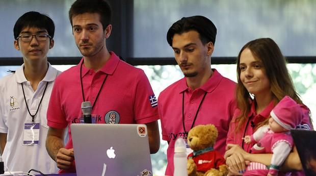 iCry2Talk, da Universidade de Thessaloniki, na Grécia (Foto: Divulgação)