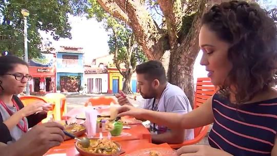 'Pé na Pista' aporta em Itaparica e visita o restaurante frequentado por João Ubaldo Ribeiro