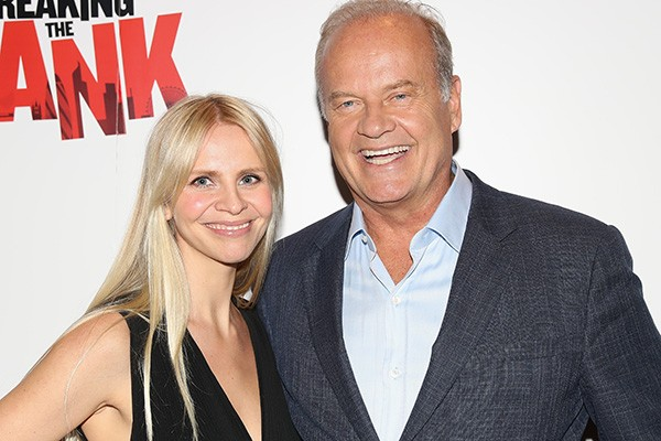 Kayte Walsh e Kelsey Grammer (Foto: Getty Images)