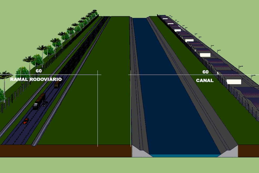 A rodovia de 23 km, em meio à Mata Atlântica, deve custar R$ 270,4 milhões — Foto: AEN/Divulgação