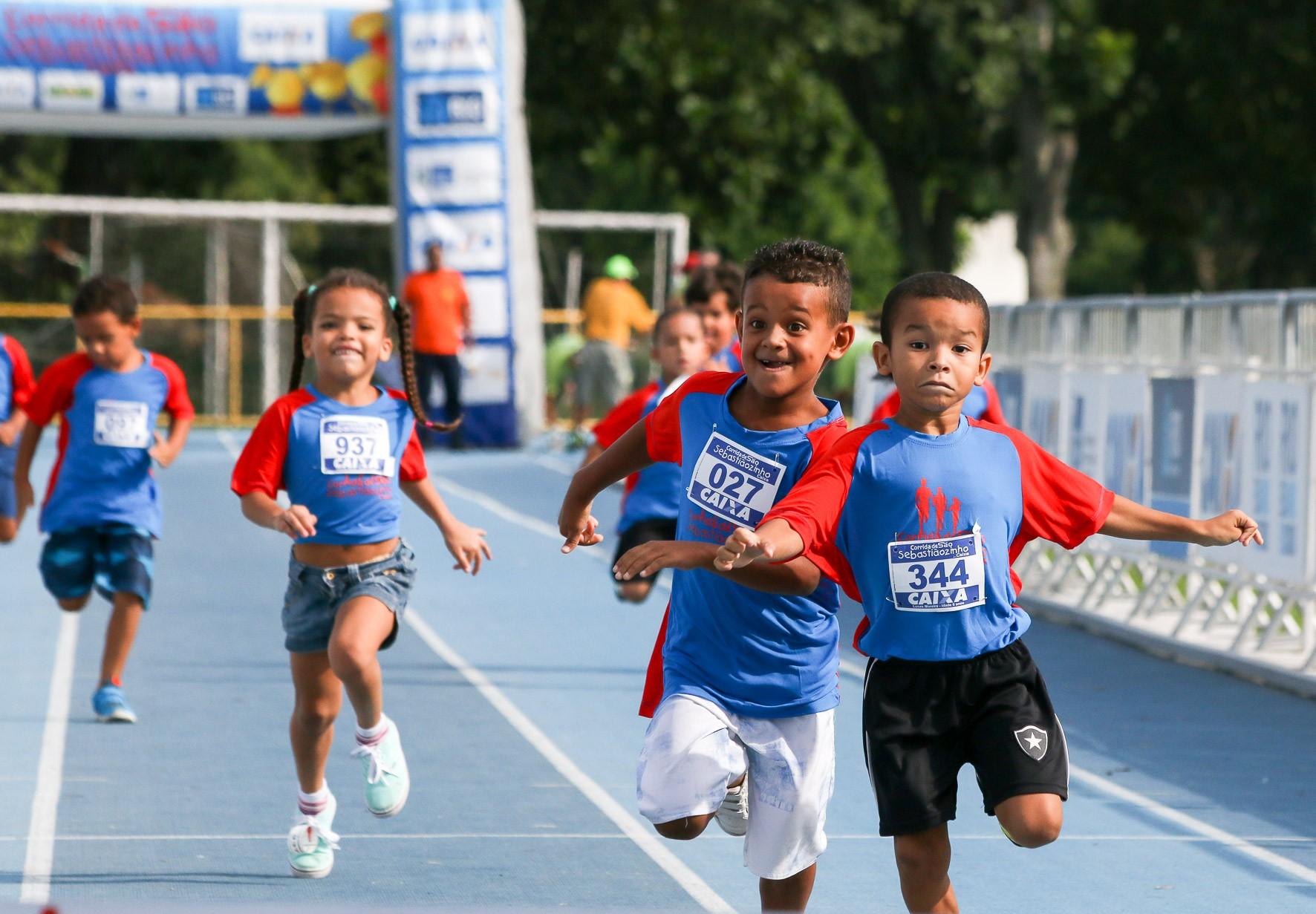 88a554c2625 Crianças de 3 a 10 anos poderão correr acompanhadas dos responsáveis