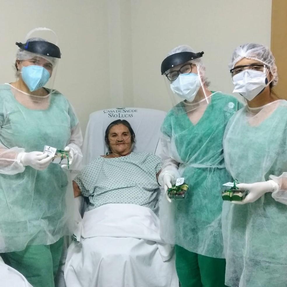 Antônia Adones se recuperou do coronavírus — Foto: Cedida