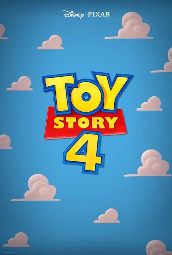 O cartaz de Toy Story 4, com lançamento previsto para 2019 (Foto: Divulgação)