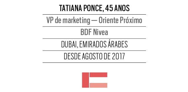 Tatiana Ponce, 45 anos, VP de marketing — Oriente Próximo BDF Nivea (Foto: Divulgação)