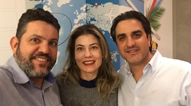 Marcelo Santos, Juliana Benedetti e Matheus Comune, fundadores da Bondi (Foto: Divulgação)