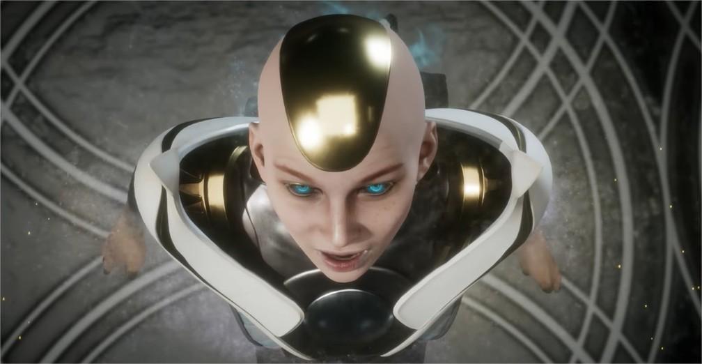 Kronika, a guardiã do tempo, é a antagonista de Mortal Kombat 11 — Foto: Divulgação/NetherRealm Studios