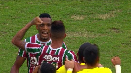 O gol de Fluminense 1 x 0 América-MG pela 38ª rodada do Brasileirão