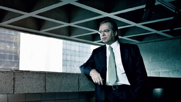Paulo Guedes Ao investir R$ 100 milhões no Grupo Anima, ele quer retomar o sonho de faturar com negócios no mercado de educação (Foto: André Arruda/Editora Globo)