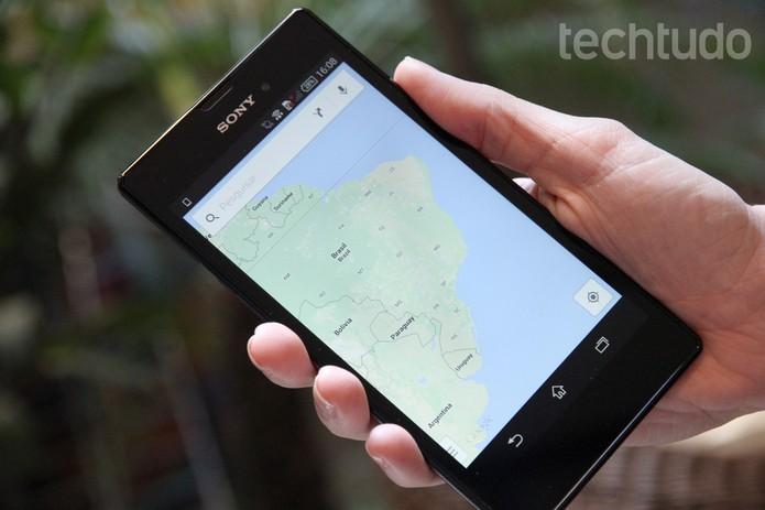 Não se perca utilizando um dos serviços de mapas online e offline (Foto: Barbara Mannara/TechTudo)