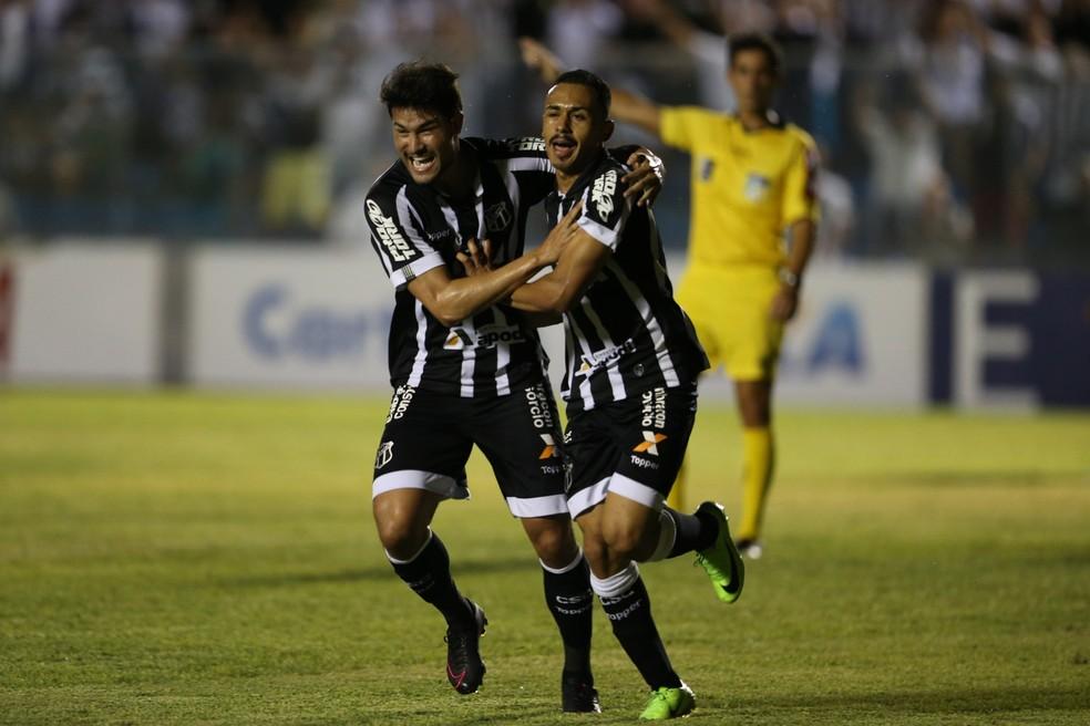Lima fez o único gol da partida e deu a vitória ao Ceará diante do Náutico 7c2a23c218bb0