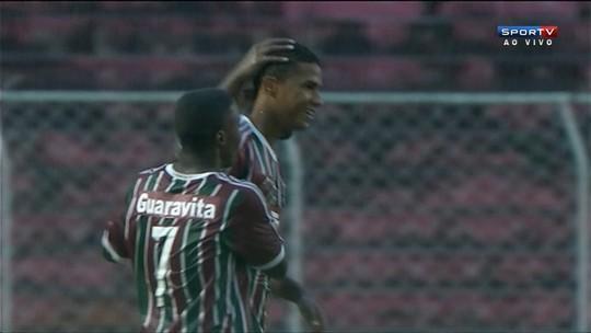 Os gols de Fluminense 2 x 0 Luverdense pela Copa São Paulo de futebol júnior
