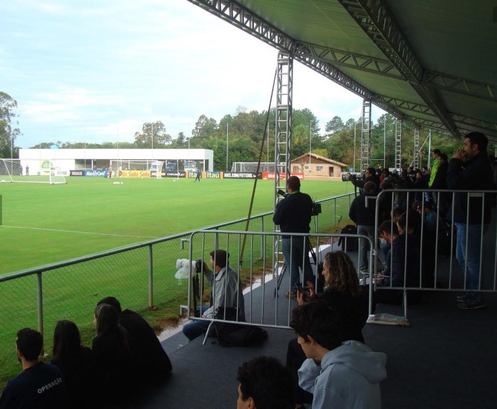 Clube se isola em QG da Copa 2014 antes de semana de decisões contra Grêmio e Cruzeiro
